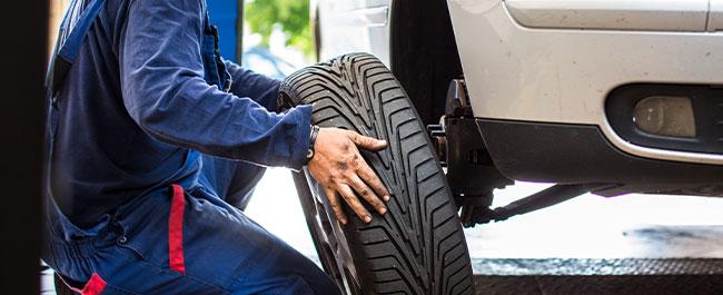 Changement de pneus à Montdidier