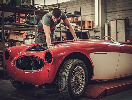 Réparation voiture de collection à Montdidier